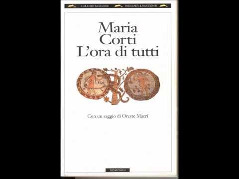 "Frammento da ""L'ora di tutti"", di Maria Corti"