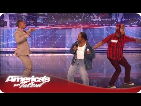 Nick Cannon Does All He Can To Help Curtis Cutts Bey Get Through His Audition - AGT Season 7