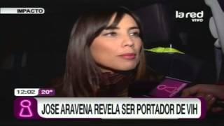 José Aravena revela ser portador del VIH