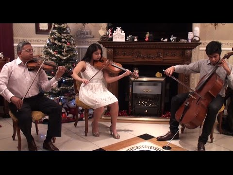 O Holy Night - cover by Defying Ashes - violin/viola/cello/piano