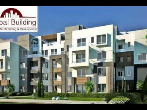 Flat with garden for sale in village gate new cairo