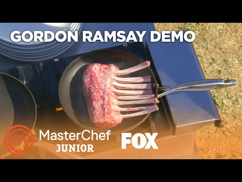 Gordon Ramsay Demonstrates How To Cook Lamb | Season 6 Ep. 5 | MASTERCHEF JUNIOR