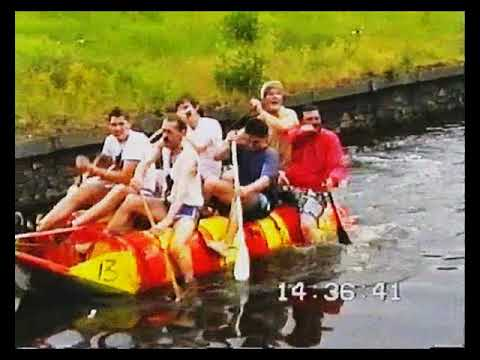 Droitwich Spa Raft Race (Vintage Footage)