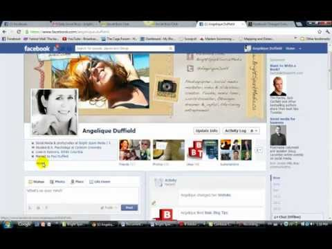 how to change profile info on facebook