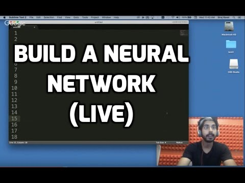 Build a Neural Network (LIVE)
