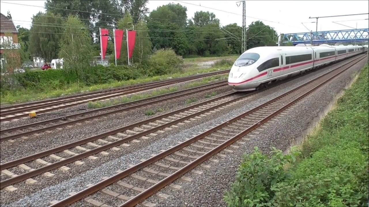 Viel Verkehr Mit Richtig Speed Duisburg Grossenbaum Juli 2017 Youtube