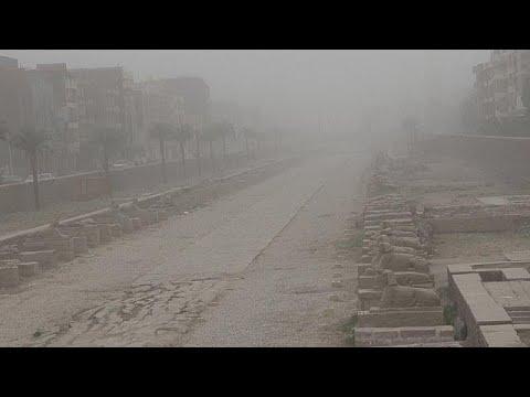 Mısır'da aşırı yağışlar ve kum fırtınası: En az 5 kişi hayatını kaybetti