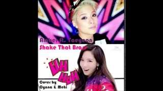 Amber ft. Taeyeon - Shake That Brass ~ Cover by Cynna & Mehi (Mwave Girls)