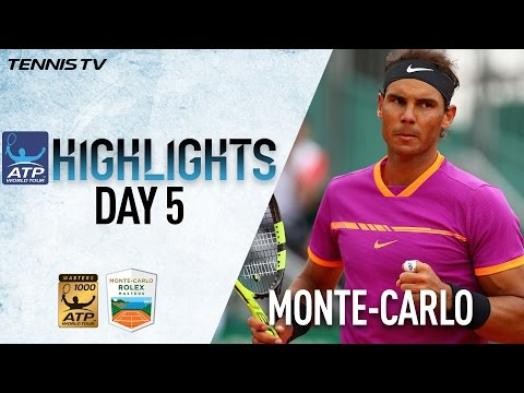 Thumbnail: Highlights: Nadal Djokovic Prevail Thursday At Monte-Carlo Rolex Masters 2017