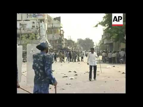 Tear gas used on protestors, clashes with police, more demos