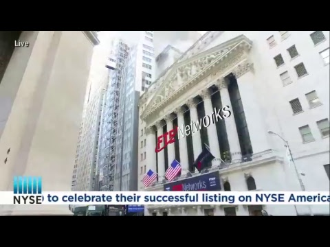 FTE Networks, Inc. (NYSE American: FTNW) Rings the NYSE Opening Bell