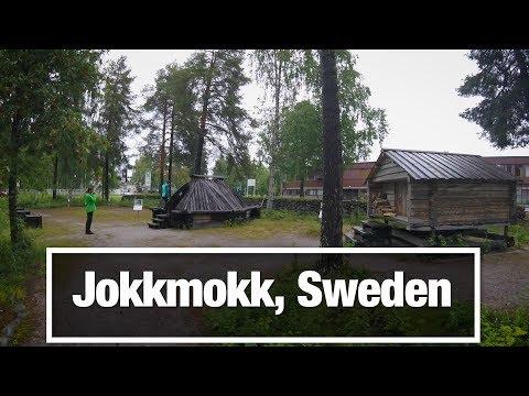 City Walks: Jokkmokk, Sweden - Arctic Town in Lappland
