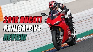 2018 Ducati Panigale V4 Review