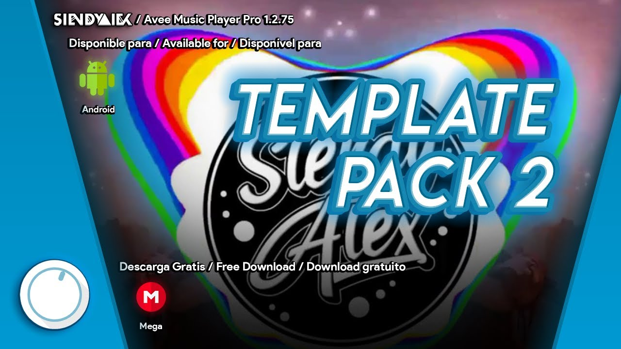 Avee Player   Download now 2 Template pack