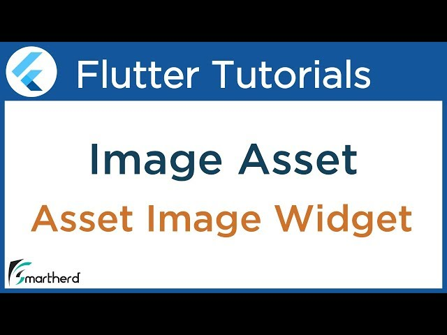 #2.5 Flutter Image Asset ( Bitmaps ) Widget Example. Flutter Beginners Tutorial with Dart