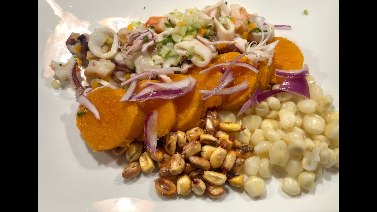 Learn how to make Ceviche Sea Gourmet Style