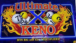 ***NEW GAME*** ULTIMATE X KENO *** SECOND ON YOUTUBE!!