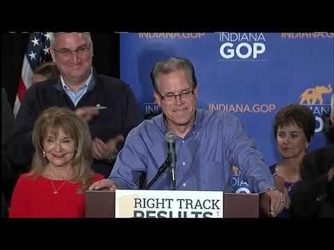 Indiana Senate winner Mike Braun: 'We've lived the American dream\'