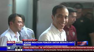 [494.38 KB] Jokowi Meninjau Situasi Mudik di Stasiun Pasar Senen