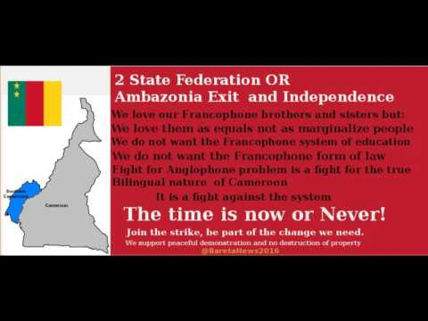 CAMEROON  2 STATE FEDERATION