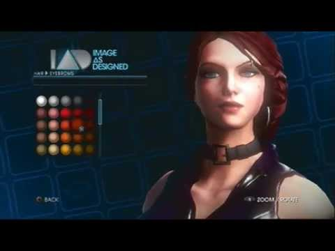 Best Female face in Saints Row 4 (Old Version)(PS3) - YouTube
