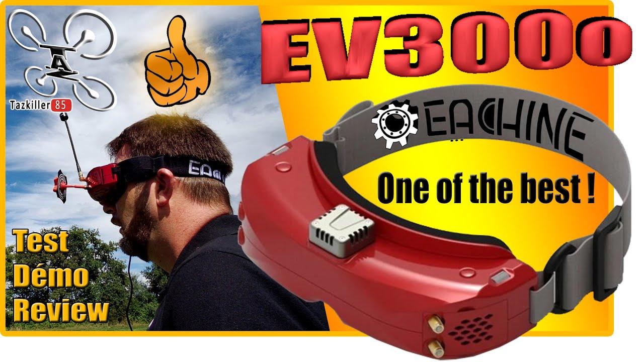 Download Eachine EV300O Lunettes FPV OLED - Review Test Démo - Pas loin de la Perfection !