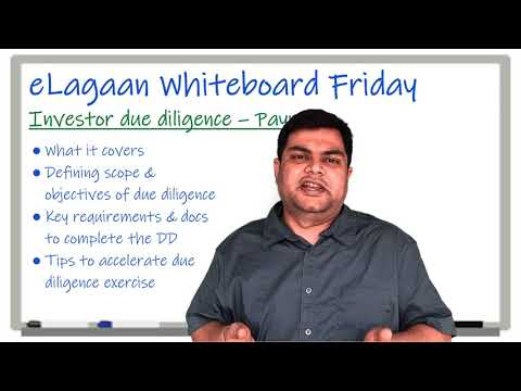 Investor due diligence - Payroll [Whiteboard Friday]