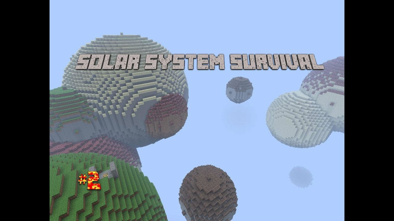 Minecraft survival map Solar System Survival EP 2 Venus and