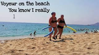 MCHL SCHRMN Voyeur on the beach Full HD