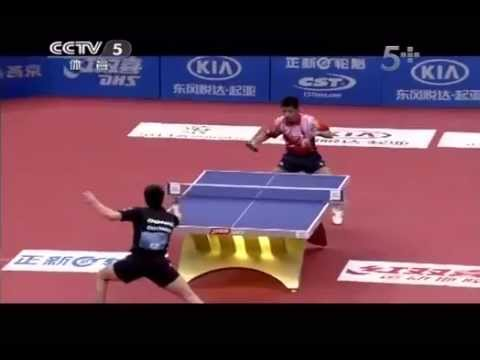 2013 Euro-Asia (D2/M4): ZHANG Jike - OVTCHAROV Dimitrij [Full Match/Chinese]
