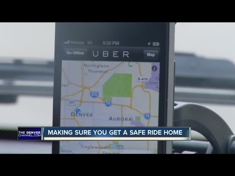 Be smart about safety when using ride-share options like Uber, Lyft