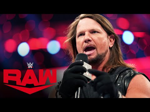 AJ Styles targets Undertaker's wife in scathing criticism: Raw, March 9, 2020