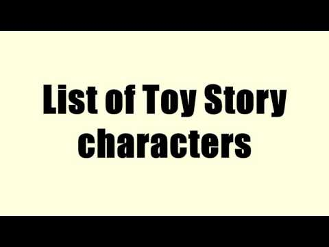 List of Toy Story characters
