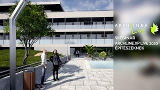 ARCHLine.XP LIVE 2020 építészeknek