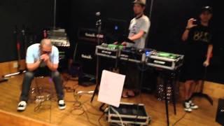 2013.9.14 渋谷LOOP annexでのライブに向けてスタジオリハーサル.