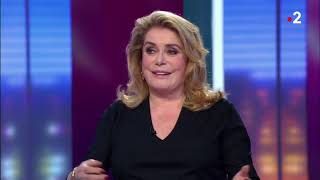 CATHERINE DENEUVE SE CONFIE SUR SA FILLE, SAINT-LAURENT, MICHEL LEGRAND