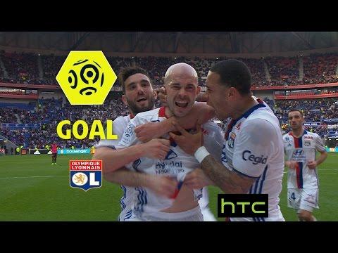 Goal Christophe JALLET (36') / Olympique Lyonnais - Toulouse FC (4-0)/ 2016-17