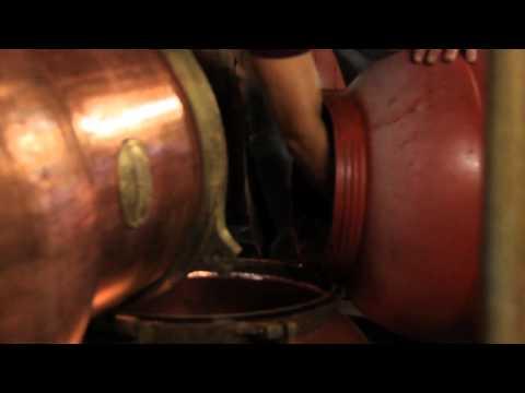Distilling Tsipouro