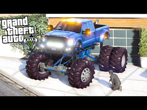 GTA 5 Mods - Sorry Officer, I Need 2 Lanes for this Truck!! (Evade Gameplay)