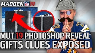 Zero Chill Gifts CLUES DECIPHERED (Photoshop) | Madden 19
