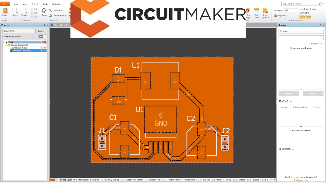 Circuitmaker Tutorial PCB YouTube