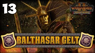 SEARCHING FOR SEA GOLD! Total War: Warhammer 2 - Golden Order Campaign - Balthasar Gelt #13