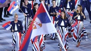 Team Serbia, Olympics 2016, Rio, Brazil