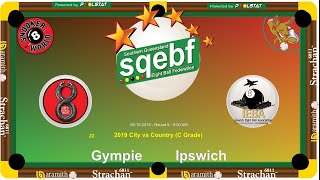 SQEBF City v Country | C Grade 8 Ball Teams -  Gympie v Ipswich