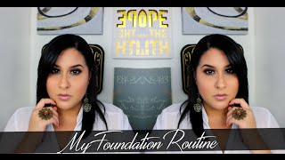 My Flawless Foundation Routine| Perfect for All Skin Types