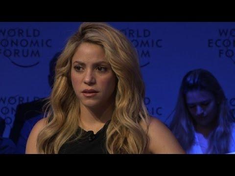 Shakira: la sociedad debe participar en proceso de paz