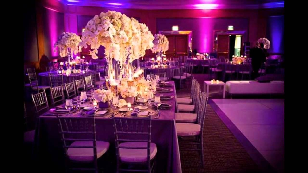 Modern themed wedding decorations ideas youtube