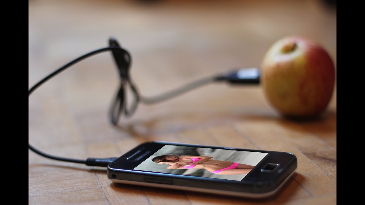 how to charge my iphone without a charger charging phone with a fruit 7468