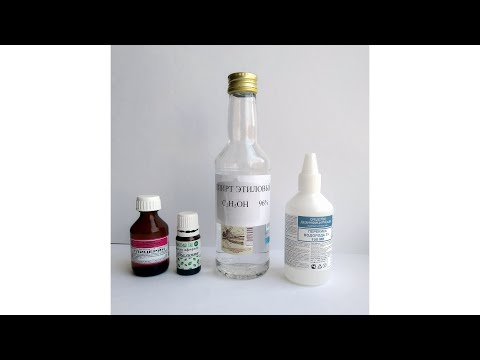 Как приготовить антисептик для рук своими руками. Дезинфицирующее средство в домашних условиях.