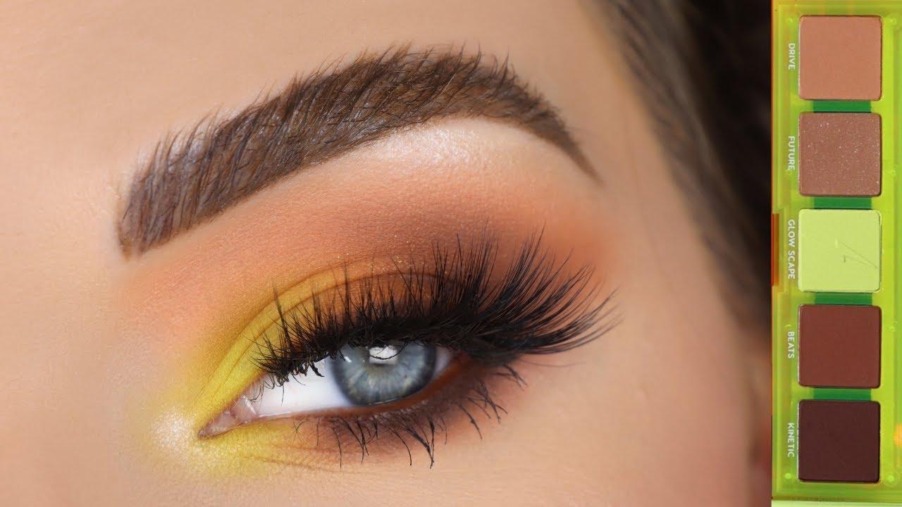ColourPop Neon Gaze Eyeshadow Palette | Neutral Eye Makeup With A Pop Of Color